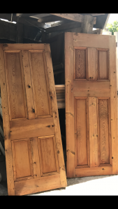 Victorian doors stripped