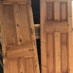 Victorian doors stripped